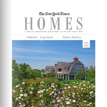 Outdoor Kitchens In Ny Times Homes Magazine