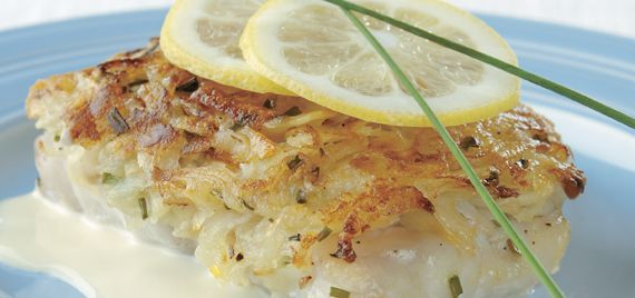 acacia s potato crusted potato crusted halibut pan seared halibut with ...