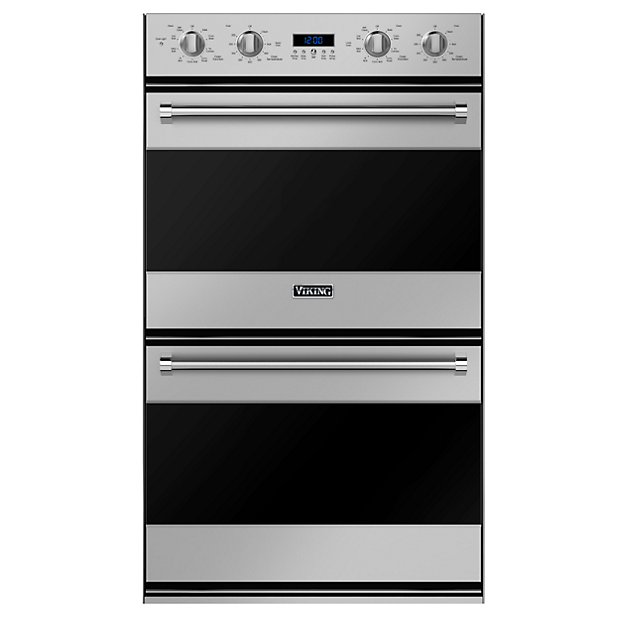 30 W Electric Double Oven Rvdoe330 In Stainless Steel Black And