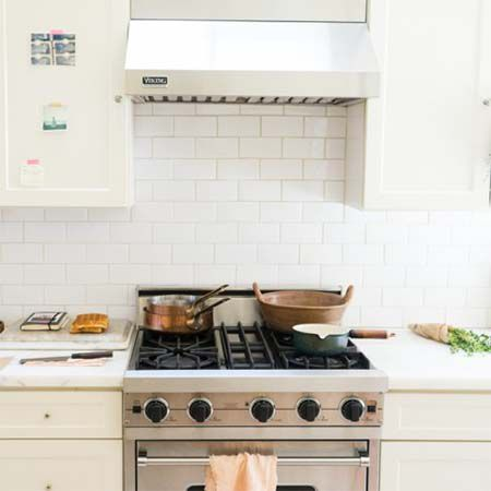 viking stove and hood. viking range and hood featured in remodelista article stove o