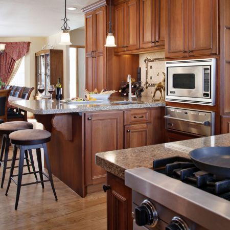 Full Viking Professional Kitchen Featured in Signature ...