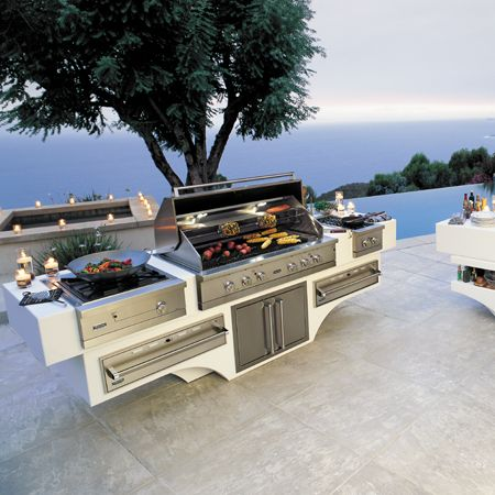 Ultimate outdoor kitchens viking range llc for Viking outdoor kitchen designs