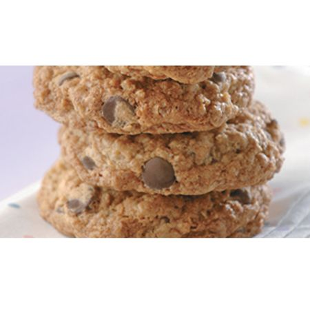 Chocolate & Dried Cherry Oatmeal Cookie Recipe — Dishmaps