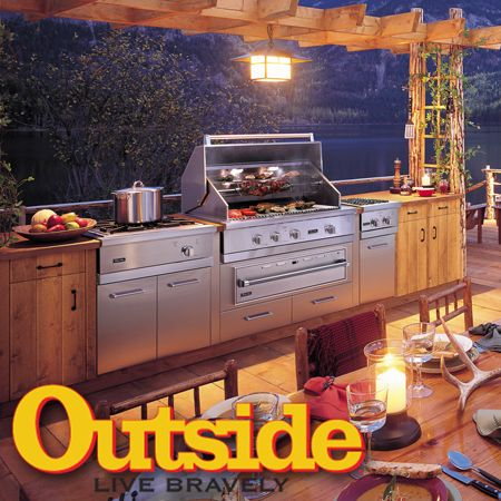 Viking Professional Gas Grills Featured In Outside
