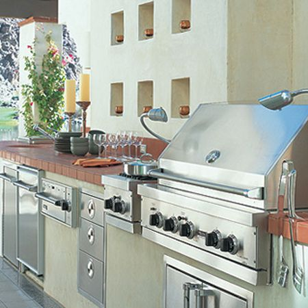 The New Outdoor Kitchen Viking Range Llc