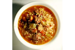 Unrolled Cabbage Soup