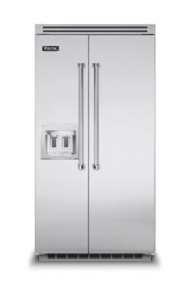 42 refrigerator side by side refrigerator freezer with dispenser rh vikingrange com 48 Inch Viking Refrigerator viking professional side by side refrigerator manual