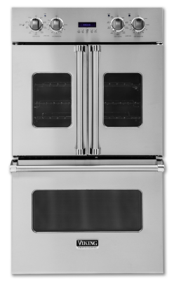 "24 Double Wall Ovens 30""W. Electric Double French-Door Oven (VDOF730) - Viking ..."