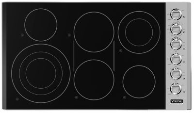 Superb Viking 36 Electric Cooktop #1: 36. 30 Inch Wide Electric Radiant Cooktop. Find An Authorized Viking Dealer