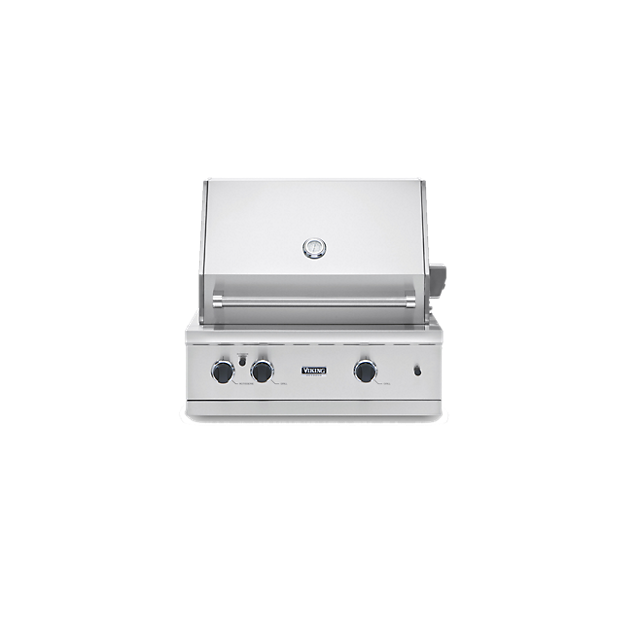 30 300 series grill vgbq in stainless steel viking for Viking professional outdoor grill