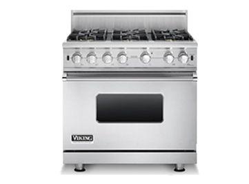 36 w sealed burner gas range vgcc536 viking range llc rh vikingrange com Viking Double Oven Viking Professional Oven