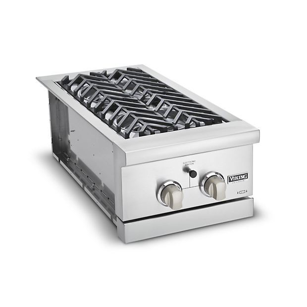 15 w double side burner vgsb in stainless steel for Viking professional outdoor grill