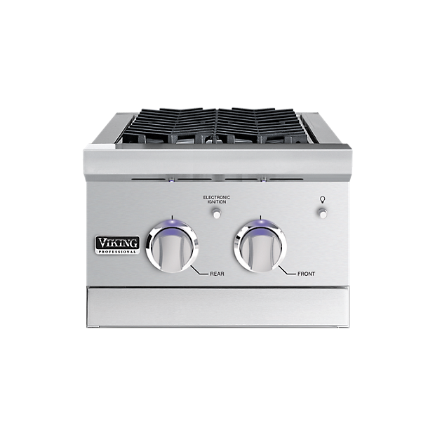 15 double side burner vgsb in stainless steel viking for Viking professional outdoor grill