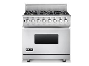 Sealed burner self cleaning gas range vgsc536 viking range llc