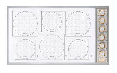 """BUILT-IN INDUCTION 36""""W. COOKTOP/SWBR"""