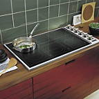 36 w all induction cooktop vicu266 in black viking for High end induction range