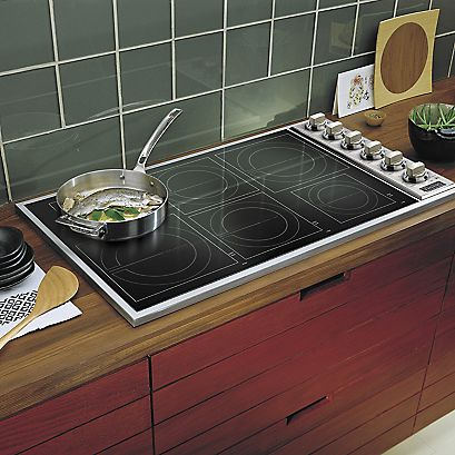 Powerful viking cooktops discount kitchen appliances for Viking 36 electric cooktop