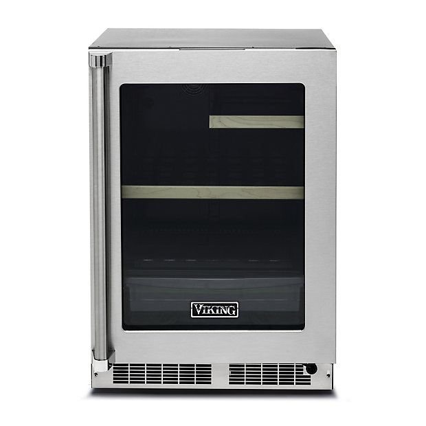 24 Undercounter Refrigerator Vrui In Stainless Steel Viking