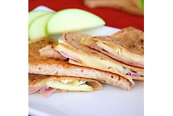 Ham and Brie Quesadillas