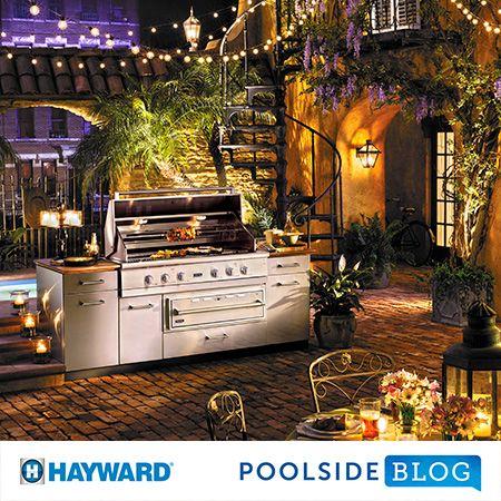 Viking Professional Outdoor Kitchens Featured On Hayward Poolside Blog Viking Range Llc