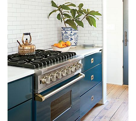 """family-friendly home update"""" features a viking blue range - viking"""