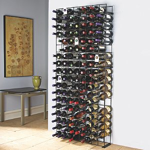 144 Bottle Black Tie Grid by Wine Enthusiast