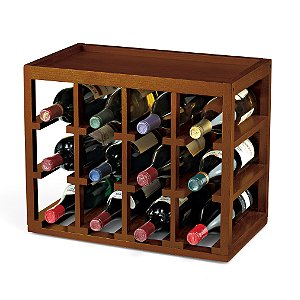 12 Bottle Cube-Stack Wine Rack by Wine Enthusiast