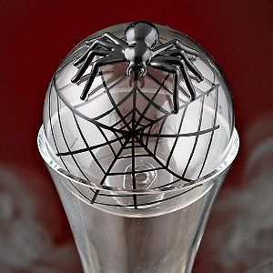 Black Spider Decanter Stopper