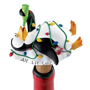 Tip C Penguin Bottle Stopper