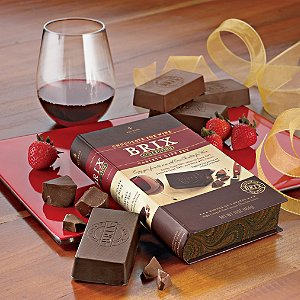 Brix Chocolate-for-Wine Gift Set by Wine Enthusiast