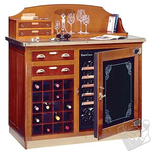 EuroCave Wine Buffet with 20 Bottle Wine Rack