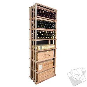 Designer Wine Rack Kit - 6' Vertical Wine Bin