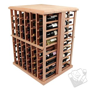 Designer Wine Rack Kit - 108 Bottle Tasting Table