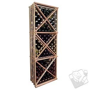 Designer Wine Rack Kit - Open Diamond Cube