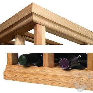 Designer Wine Rack Kit - 4' Molding Kit