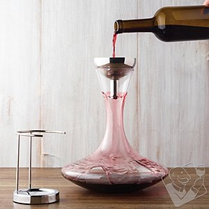 Vivid Wine Decanter & Aerating Funnel Set