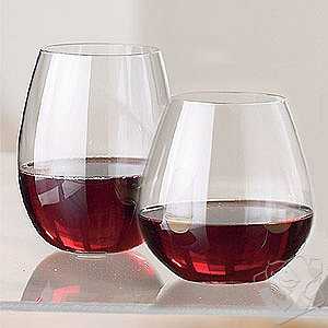 Riedel stemless wine glasses (mixed set of 8)