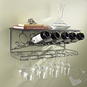 Wrought Iron Hanging Rack