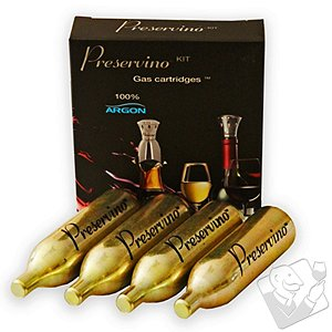 Preservino Argon Gas Cartridges (Set of 4)