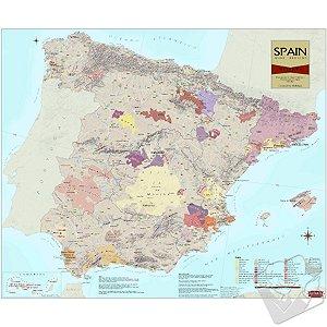 Wine Map of Spain