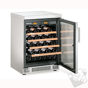 EuroCave Performance 59 Built-In Wine Cellar (Multi-Temp) (Stainless Steel - Glass Door)