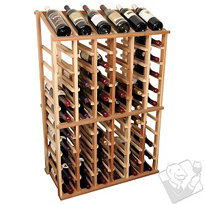 Designer Wine Rack Kit - 6 Column Half Height w/Display