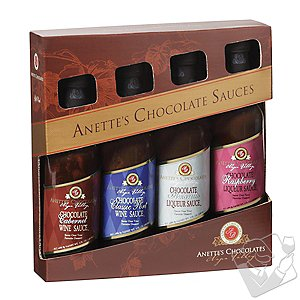 Chocolate Sauces Gift Pack (Set of 4)