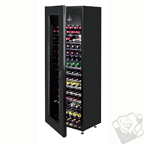 Vinotheque Wine Reservoir Wine Cellar (1-Temp) (Black - Glass Door)