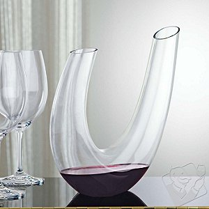 Wine Enthusiast Parabola Wine Decanter