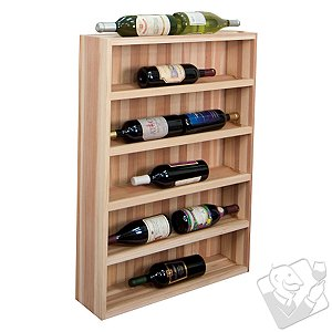 Designer Wine Rack Kit - 10 Bottle Vertical Display Wine Cabinet