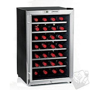 Wine Enthusiast Silent 28 Bottle Wine Refrigerator (Stainless Steel Trim Door)