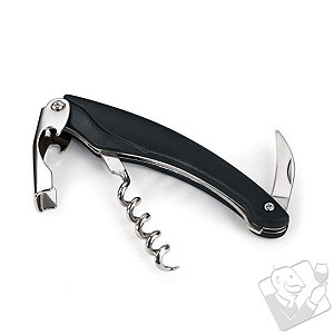 Wine Enthusiast Translucent Waiter Style Corkscrew