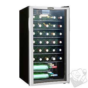 Danby Appliances - Danby 35 Bottle Wine Cooler (1-Temp)
