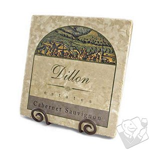 Housewares - Personalized Italian Marble Plaque